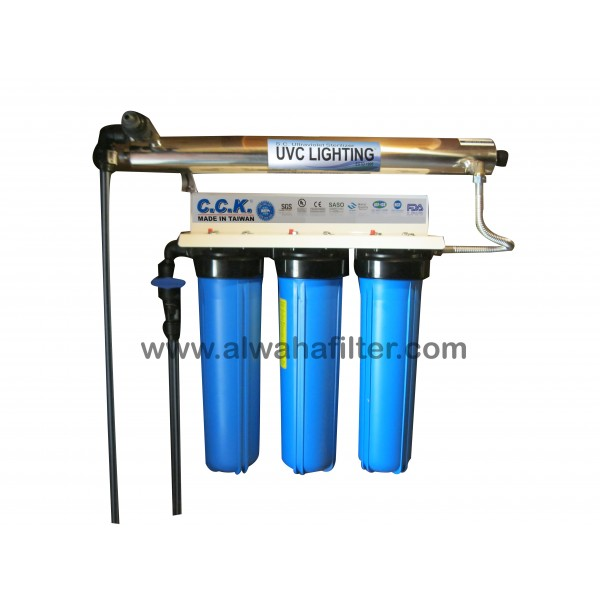 Water Filter 4 stages 20*4.5